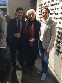 Nadiv und Sami Molcho mit Christian Potisk (Foto Brillenquartier)
