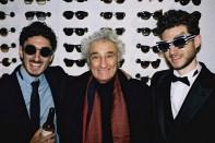 Nadiv Molcho mit Vater Samy und Bruder Nuriel (Foto Diagonale/Pibernig)