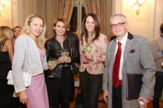 Ekaterina Mucha, Vera Russwurm und Christian W. Mucha, French Fashion Show (Foto Moni Fellner)