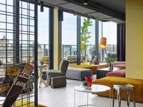Dachboden des 25h Hotel Wien (Foto 25h Hotel Wien)