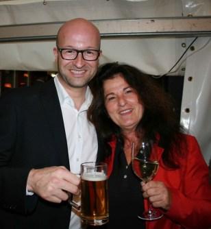 Bernd Pürcher, Claudia Brandstätter (Foto Christina Dow)