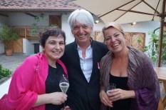 Journalist Dr. Reinhard Sudy kam auch zum Pink Ribbon Award 2016 (Foto Waltraud Fischer)