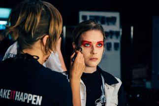 Thomas Hanisch präsentiert seine Spring/Summer 2017 Kollektion auf der Mercedes Benz Fashion Week Berlin (Foto Ben Laerk)