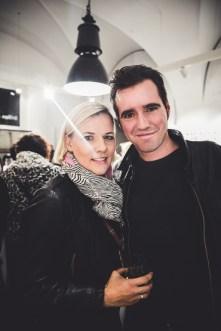 Tina Merlini und Patrick Kovacs Merlini - Ein Jahr BrillenQuartier in Graz (Foto lupispuma)