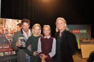 Landkrimi-Präsentation im ORF-Center Wien: Gregor Bloeb, Katharina Strasser, Mag. Kathrin Zechner und Regisseur Harald Sicheritz (Foto Reinhard Sudy)