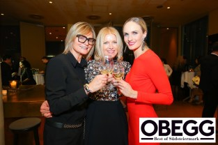 Hedi Grager, Helga Kresnik und Patricia Kaiser - OBEGG - BEST OF SÜDSTEIERMARK (Foto Moni Fellner)