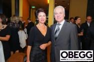 Bürgermeister Helmut Leitenberger mit Gattin - OBEGG - BEST OF SÜDSTEIERMARK (Foto Moni Fellner)
