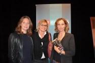 Landkrimi-Präsentation im ORF-Center Wien: Patricia Aulitzky, Hedi Grager und Doris Schretzmayer (Foto Reinhard Sudy)