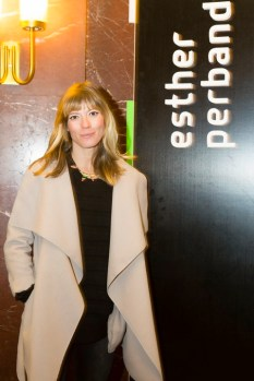 Designerin Esther Perbandt - Show Berlin Fashion Week (Foto Hardy Berthold)
