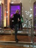 Journalistin und Bloggerin Hedi Grager bei der Marc Cain Fashion Show Berlin (Foto privat)
