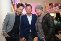 Brandboxx Fashion Night: Michael Lameraner, Markus Oberhamberger, Uwe Kröger (Foto Moni Fellner)