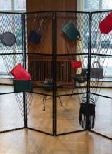 DER BERLINER MODE SALON Herbst/Winter 2017/18 Gruppenausstellung LILI_RADU (Foto BERLINER MODE SALON)