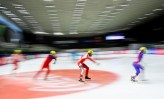 GRAZ,AUSTRIA,19.MAR.17 - SPECIAL OLYMPICS, SPEED SKATING - World Winter Games, 777m. Image shows a feature with Matthias Helmut Schwarz (AUT/ Europe). Photo: GEPA pictures/ Christian Walgram