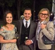 Eva Poleschinski, Andreas Gabalier und Hedi Grager (Foto Reinhard Sudy)