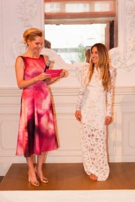 Susanne Hoffmann feiert die Gründun des Success Ladies Netzwerkes (Foto Barbara Nidetzky)