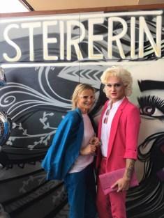 Hedi Grager und Gloria Hole - 5 Jahre STEIRERIN (Fotos Prontolux Thomas Luef Mia's Photo Art)
