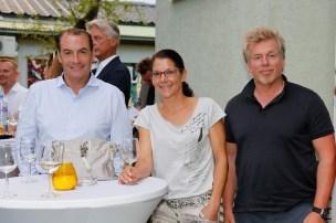 Werner Stadler eröffnete sein neues Atelier in Graz (Foto Manfred Lach)