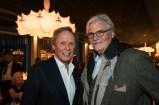Neues el Gaucho am Wiener Rochusmarkt - Peter Kraus und Peter Simonischek (Foto Werner Krug)