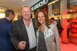 Eröffnung el Gaucho Wiener Rochusmarkt - Franz Grossauer mit Vera Russwurm (Foto Andreas Tischler)