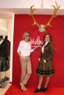 Mothwurf - Geschäfts-Eröffnung in München - Bloggerin Hedi Grager und Christina Dow, public! die öffentlichkeitsagentur (Foto privat)