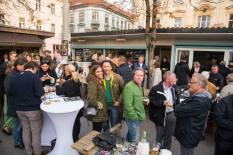 Schlossberg Magazin Präsentation in der 'Genießerei' am Grazer Kaiser Josef Markt (Foto Werner Krug)
