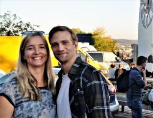 Gudrun Schweinzer, CineStyria, mit Michael Steinocher (Foto Reinhard Sudy)
