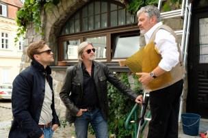 13. Staffel SOKO Donau mit Michael Steinocher, Stefan Jürgens und Werner Brix /Foto SATEL Petro Domenigg)