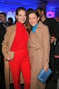 BERLIN, GERMANY - JANUARY 16: Yvonne Catterfeld and Hannah Herzsprung during the Marc Cain Fashion Show Berlin Autumn/Winter 2018 at metro station Potsdamer Platz at on January 16, 2018 in Berlin, Germany. (Photo by Gisela Schober/Getty Images for Marc Cain)
