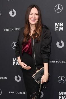 : Johanna Klum (Photo by Matthias Nareyek/Getty Images for MBFW)