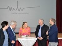 Franz Majcen, Werner Gutzwar, Volker Meier mit Designerin Marina Hoermanseder (Foto Reinhard Sudy)
