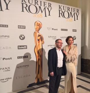 KURIER ROMY Gala 2018 - Aglaia Szyszkowith (Foto Hedi Grager)