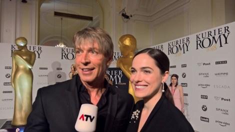 KURIER ROMY Gala 2018 - Dominik Heinzl und Verena Altenberger (Foto Hedi Grager)