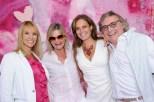 vr: Walter Polz, Christina Dow und Hedi Grager - pink&white Event am Gut Pössnitzberg (Foto Gut Pössnitzberg)