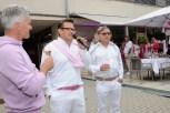 Erich Polz, Rainer Ogrinigg und Walter Polz - pink&white Event am Gut Pössnitzberg (Foto Gut Pössnitzberg)