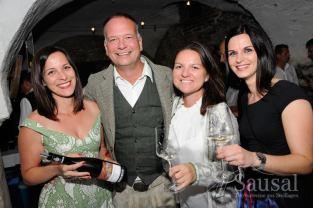 Sausal Revolution 18 - Marion Wohlmuth, eugen Roth, Martina Roth und Vera Hirschmann (Foto Weinbauverein Sausal)