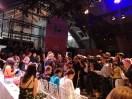 Marc Cain Show am Berliner Westhafen - Blitzlichtgewitter bei den prominenten Gästen (Foto Hedi Grager)cof