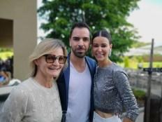 Sommerfest OBEGG - Best of Südsteiermark und LOISIUM Hedi Grager, Kari Ochsner und Kerstin Lechner (Foto Reinhard Sudy)