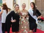 Kerstin Zacharias, Eva Poleschinski und Miss Styria 2018 Justine Bullner (Foto Rene Strasser)