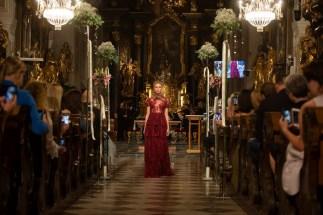 Eröffnungsshow der 1. Hartbergerland Hochzeitsmesse mit Designerin Eva Poleschinski (Foto Rene Strasser)