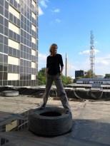 Mathias Kniepeiss Stunt & Photography Masterclass-Workshop - Hedi Grager (Foto Reinhard Sudy)