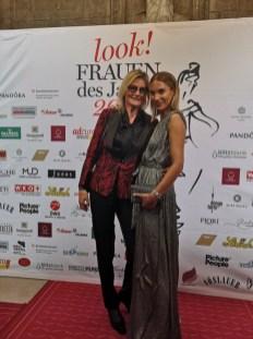 look! Woman of the Year Gala 2018 - Journalistin und Bloggerin Hedi Grager mit Influenzerin Karin Teigl (Foto privat