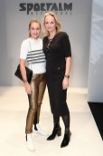 SPORTALM Kitzbühel Show Berlin Fashion Week - Nina Suess und Ulli Ehrlich (Photo by Matthias Nareyek/Getty Images for Sportalm)