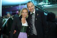 70. Steirischer Bauernbundball - Ministerin Juliane Bogner-Strauß mit Mann Erik Bogner (Foto Oliver Wolf)