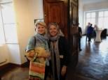Rudolf Budja Galerie Salzburg: Immobilien-Chefin Marlies Muhr und Marion Fischer, artmoments (Foto Hedi Grager)