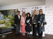 Global Film Showcase during Cannes Film Festival 2019 - Gotham Chandna, Nicole Muj, Dena Rassam, Susanne Baumenn-Cox und Hedi Grager (Photo Hedi Grager)