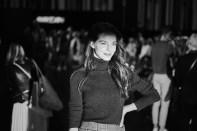 """Marc Cain präsentierte auf der Fashion Week Berlin die Frühjahr/Sommer Kollektionen 2020 unter dem Motto: """"Colour in Motion"""" - Schauspielerin Yvonne Catterfeld. (Foto Marc Cain)"""