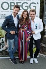 LOISIUM meets OBEGG Schlossbergfest im LOISIUM Wine&Spa Resort in Ehrenhausen - Michael Lameraner, Bettina Assinger und Adi Weiss (Foto Simon Fortmüller)