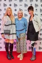 Eröffnungsabend der MQ Vienna Fashion Week 2019 - Organisatorinnen Elvyra Geyer, Zigi Mueller Matyas und Maria Oberfrank (Foto Starpix /Alexander Tuma)