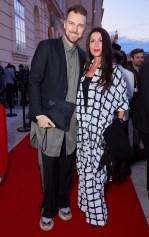 Eröffnungsabend der MQ Vienna Fashion Week 2019 - Designer NikoNiko und Sängerin Monika Ballwein (Foto Starpix / Alexander Tuma)