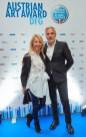 Art Award Verleihung 2019 - 4 Uschi Fellner-Pöttler & Christian Pöttler (Foto Starpix /Alexander Tuma)